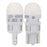 Philips 194 Ultinon White LED Bulb Interior Lights OE Replace 2-Pack 194ULWX2