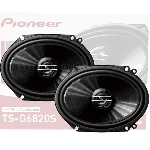 "Pioneer TS-G6820S 6"" x 8"" Inch 250Watts Coaxial Car Audio Speakers 2Way G-Series"