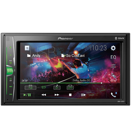 "Pioneer DMH-220EX Bluetooth Digital Multimedia Receiver with 6.2"" WVGA Touchscreen Display"