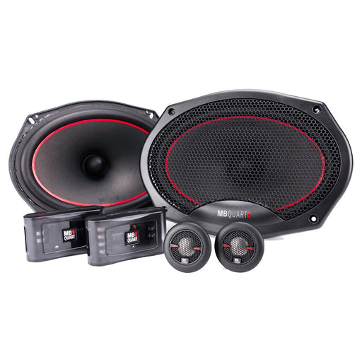 "MB Quart RS1-269 Reference Series 6x9"" 2-Way Component Speaker System 240 Watts"