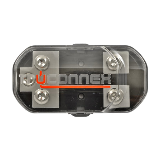 TruConnex TC4FB-2ANL 1-4 Gauge Input and 4-8 GA Outputs Dual ANL Fused Distribution Block