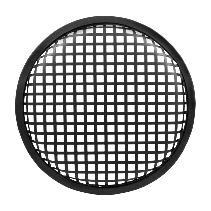 The Wires Zone 8 Inch Durable Steel Mesh Speaker Subwoofer Grill Waffle Style w/ Clips