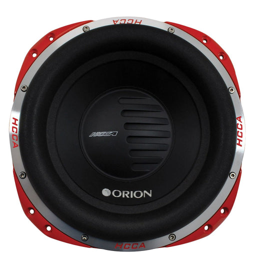 "Orion HCCA122 12"" Dual 2 Ohms 5000W Nominal Power DVC Car Subwoofer 2500 Watts RMS"