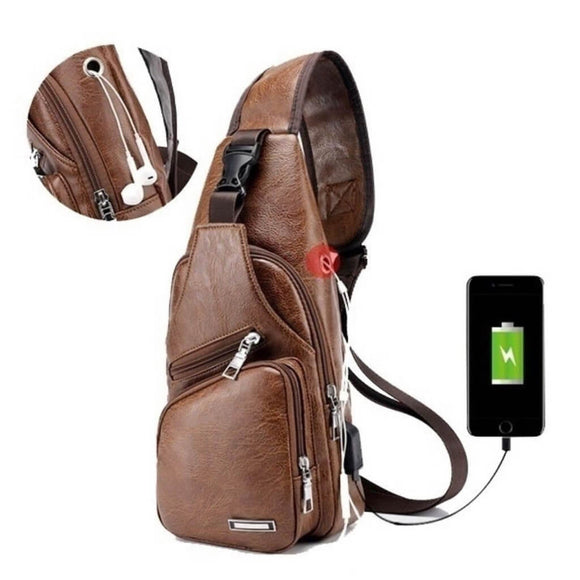 Coocart Online™ - Multifunctional Chest Cross Body Bag For Men