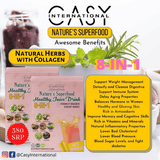 Casy International™ - Nature's Superfood Healthy Juice Drink (21g x 10 sachets) Made of Natural Plant Herbs