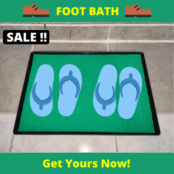 Coocart Online™ Disinfectant Foot Bath / Sanitation Mat 17x30 inches