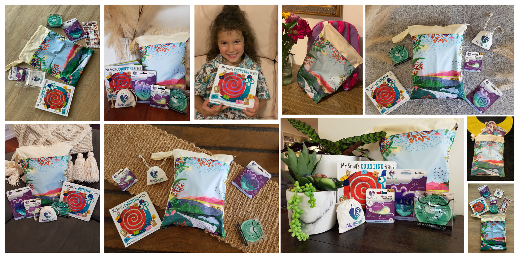 Nail Snail Baby Shower Gift Pack Happy Customers
