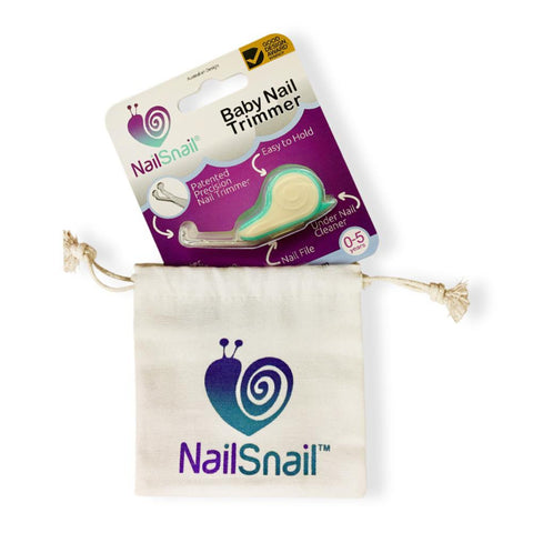 Nail Snail Baby Nail Trimmer With Canvas Bag