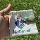 Nail Snail & Canvas Storage Bag