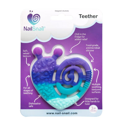 Nail Snail Bold Teether Package Front