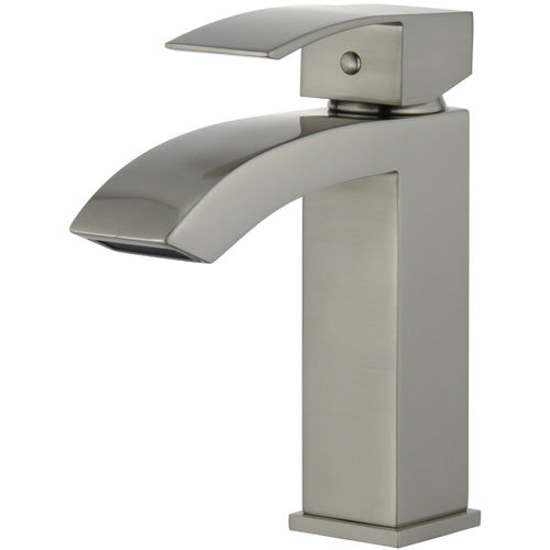 Cordoba Single Handle Bathroom Vanity Faucet in Brushed Nickel