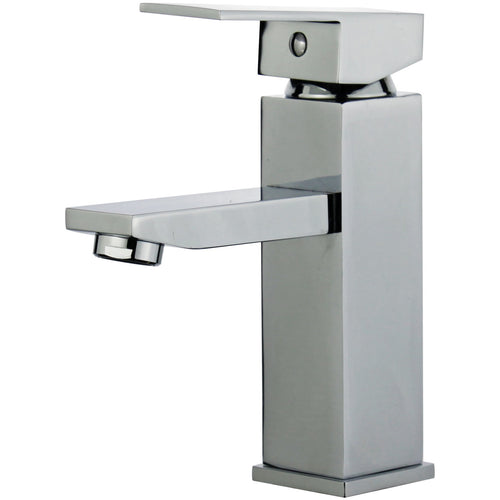 Granada Single Handle Bathroom Vanity Faucet in Polished Chrome