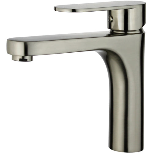 Donostia Single Handle Bathroom Vanity Faucet in Brushed Nickel
