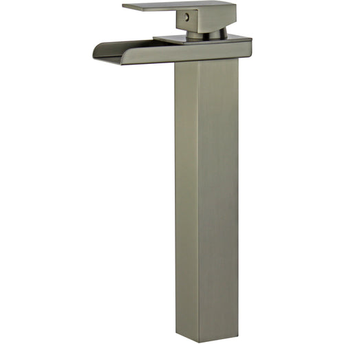 Oviedo Single Handle Bathroom Vanity Faucet in Brushed Nickel