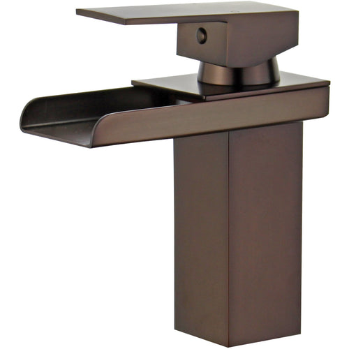 Pampalona Single Handle Bathroom Vanity Faucet in Oil Rubbed Bronze
