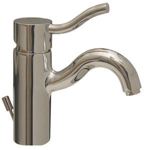 Venus Single Hole/Single Lever Lavatory Faucet with Pop-up Waste