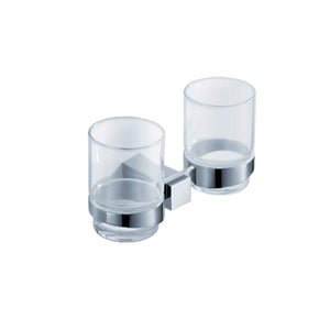 Fresca Ellite Double Tumbler Holder - Chrome