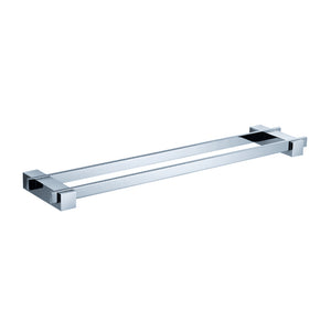 "Fresca Ellite 18"" Double Towel Bar - Chrome"