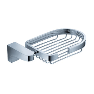 Fresca Generoso Soap Basket - Chrome
