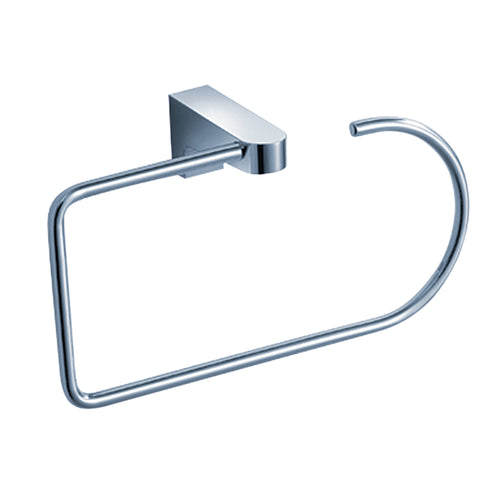Fresca Generoso Towel Ring - Chrome