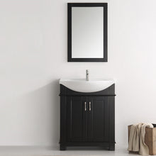 "Load image into Gallery viewer, Fresca Hartford 30"" Black Traditional Bathroom Vanity"