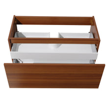 "Load image into Gallery viewer, Fresca Mezzo 39"" Teak Modern Bathroom Cabinet"