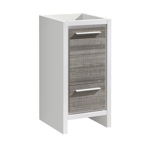 "Fresca Allier Rio 16"" Ash Gray Modern Bathroom Cabinet"