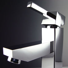 Load image into Gallery viewer, Fresca Bevera Single Hole Mount Bathroom Vanity Faucet - Chrome