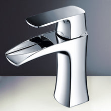 Load image into Gallery viewer, Fresca Fortore Single Hole Mount Bathroom Vanity Faucet - Chrome