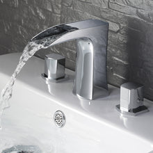 Load image into Gallery viewer, Fresca Fortore Widespread Mount Bathroom Vanity Faucet - Chrome