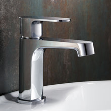 Load image into Gallery viewer, Fresca Gravina Single Hole Mount Bathroom Vanity Faucet - Chrome