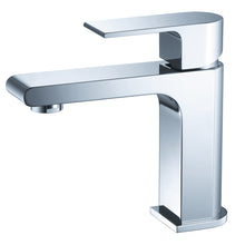 Load image into Gallery viewer, Fresca Allaro Single Hole Mount Bathroom Vanity Faucet - Chrome