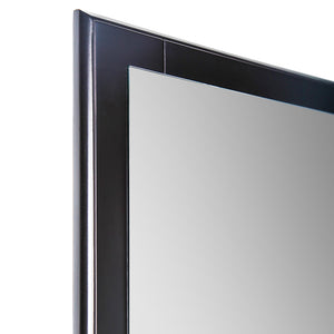 "Fresca Oxford 20"" Espresso Mirror"