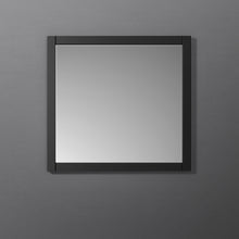 "Load image into Gallery viewer, Fresca Manchester 30"" Black Traditional Bathroom Mirror"