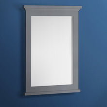 "Load image into Gallery viewer, Fresca Windsor 27"" Gray Textured Bathroom Mirror"