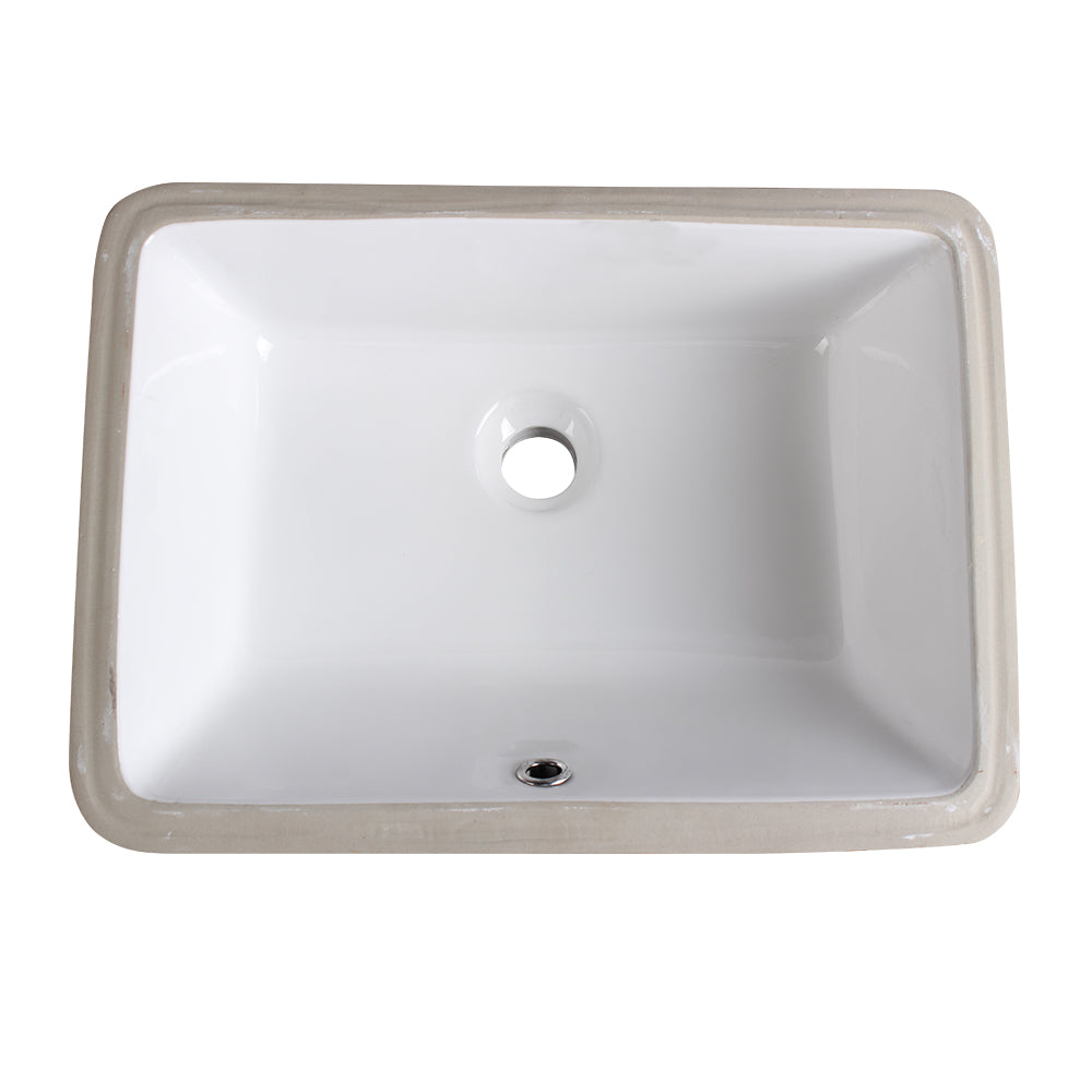 Fresca Allier White Undermount Sinks