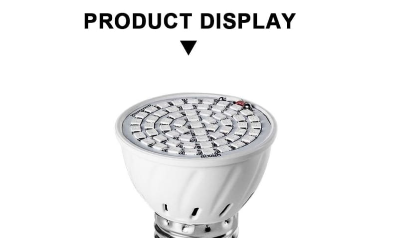 Full Spectrum LED Plant Grow Light Bulb -                              ONIA LLC