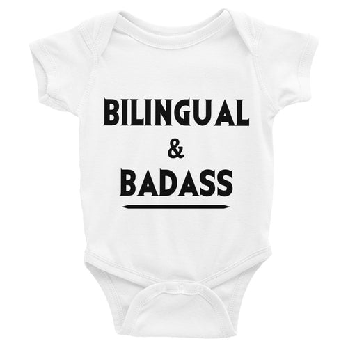 cool bilingual baby gift