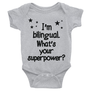 body suit bilingual baby
