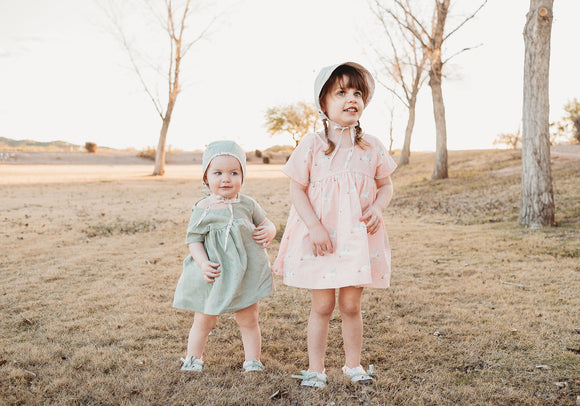 Magical Meadows | Cotton & Linen Smock Dresses & Bloomers