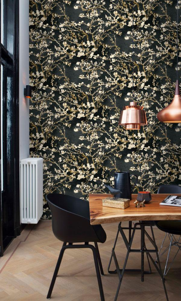 Van Gogh almond blossom wallpaper