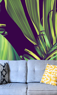 Curated Bespoke Murals Mysterious Jungle Wallpaper 2001003