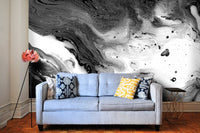 Curated Bespoke Murals Minimalist Marble Wallpaper 2001005