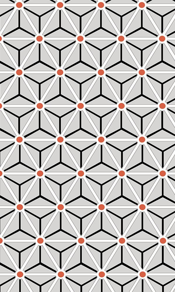 Layered Geometrics Wallpaper 2001054