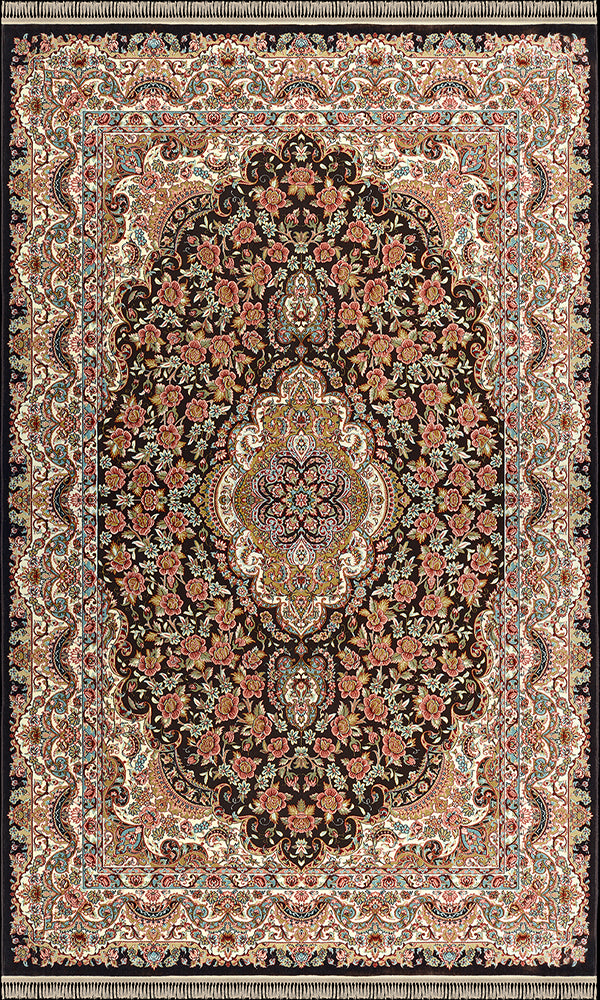 Rose Brown Rug 2171