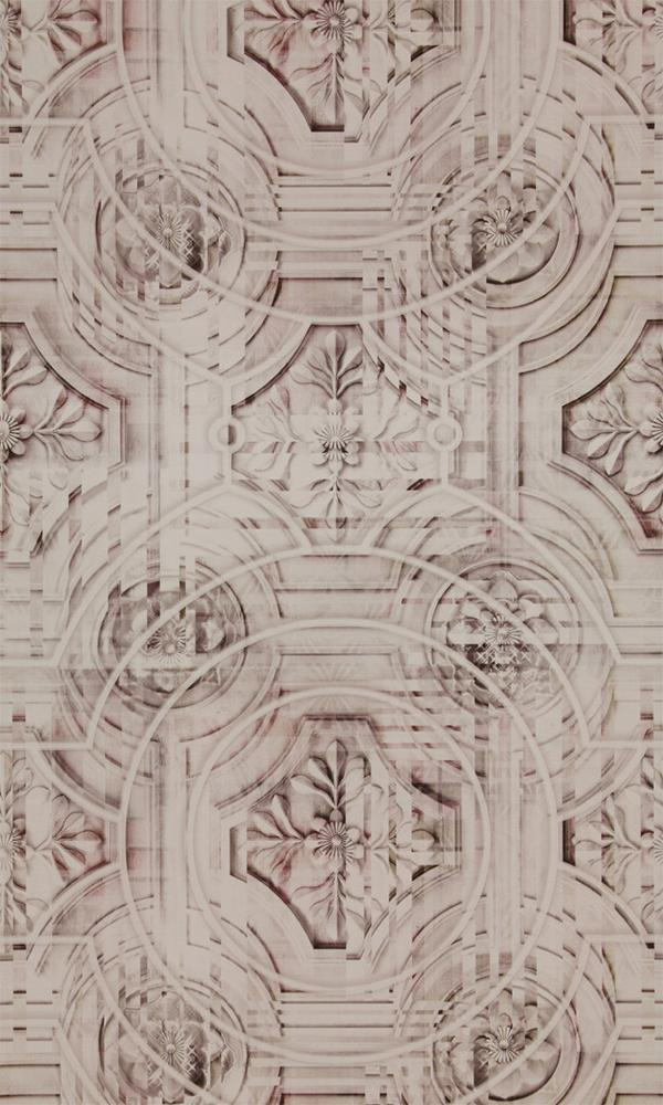 Neo Royal Digital Floral Tiles Wallpaper 218630