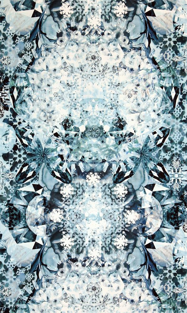 Neo Royal Jeweled Kaleidoscope Wallpaper 218648