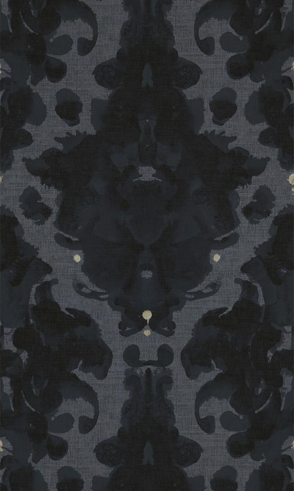 Neo Royal Painted Damask Wallpaper 218655