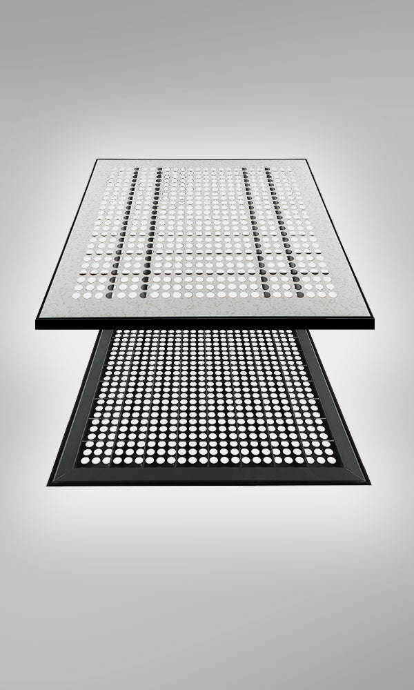Perforated Cementitious Antistatic Raised Access Floor 1.2HPL