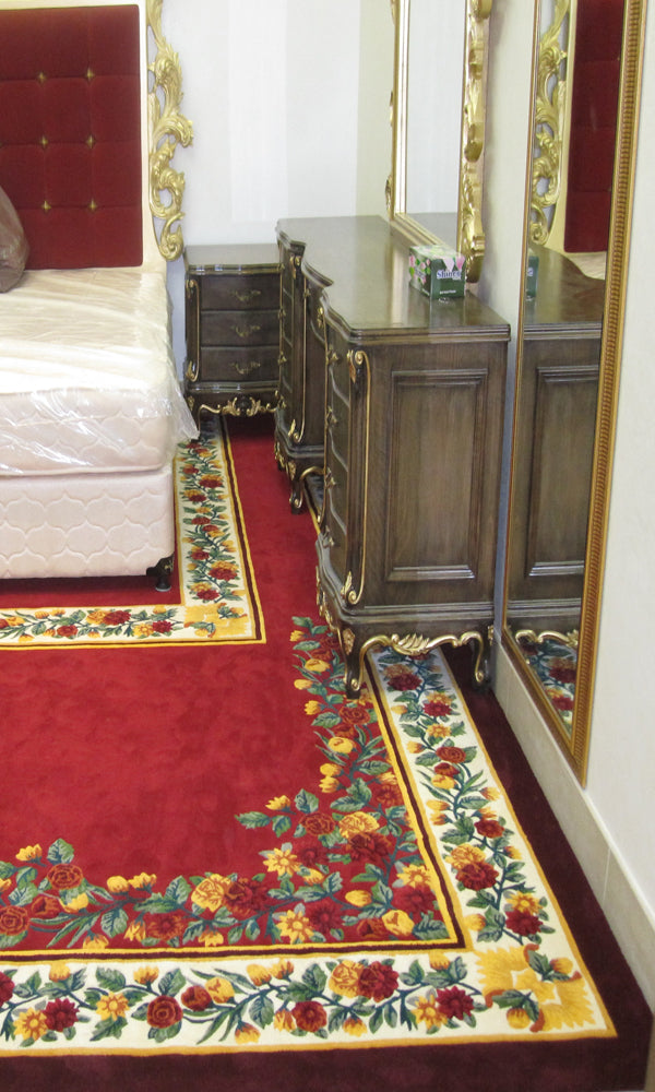 Hand Tufted Bedroom Carpet 0009